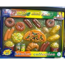 Set De Comida De Juguete Cocina Para Niños Y Niñas
