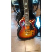 Gibson Les Paul Custom (china) C/estuche Rigido Nueva