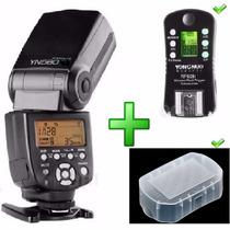 Flash Yn- 560iii Versão 3 + Rf-605 Difusor Sony Canon Nikon