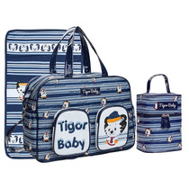 Kit Bolsa Maternidade Tigor T.tigre Gde E Frasq Original
