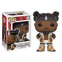 Coleccionable Wwe Kofi Kingston Pop! Figura De Vinilo