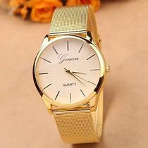 Reloj De Mujer Dorado