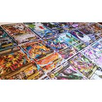 Mega Lote Pokémon - 50 Cartas, + Ex + Booster ! Português