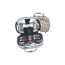 Maleta / Estojo Completo Fenzz Maquiagem Oncinha A:25xl:25cm
