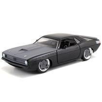 Fast And Furious Jada Barracuda Plymouth 1970 Negrogris 1:32