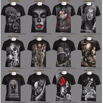 Camisetas Mexicana/gangsta/catrina/lowrider