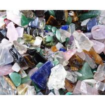Atacado! Pedras Preciosas Mistas Polidas - 1 Kg