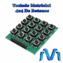 Teclado Matricial 4x4 De Botones Keyboard Arduino Pic