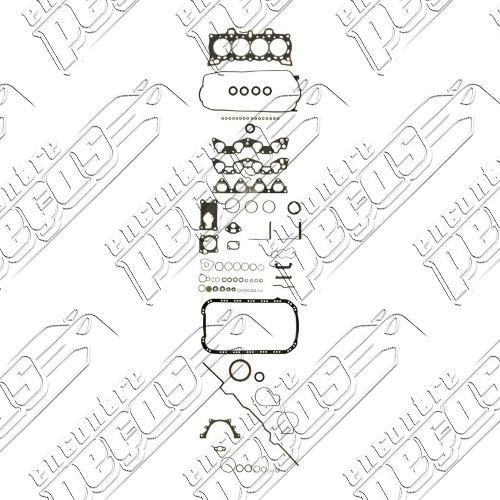 Jogo Juntas Motor Honda Civic Shuttle 1 5 80 90 Motor D15b2