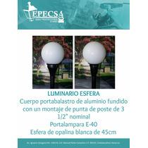 Luminario Esfera De 45cm