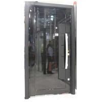 Porta Pivotante Alumínio Cor Preto 1400mmx2200-esquadrirmãos