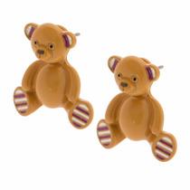 Envio Gratis Aretes Oso 3d Teddy Bear Katy Perry Claires
