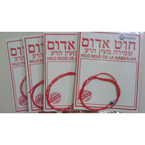 Pulsera Hilo Rojo De La Kabbalah Israel