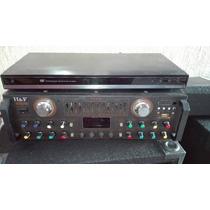 Sonido Casero Amplificador De Sonido H&fhf618 Mas Cornetas