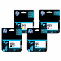 Kit 4 Cartuchos Hp 950xl 951 Original Para Pro 8100 Pro 8600