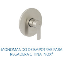 Monomando De Empotrar Para Regadera O Tina Urrea 9468 Inox