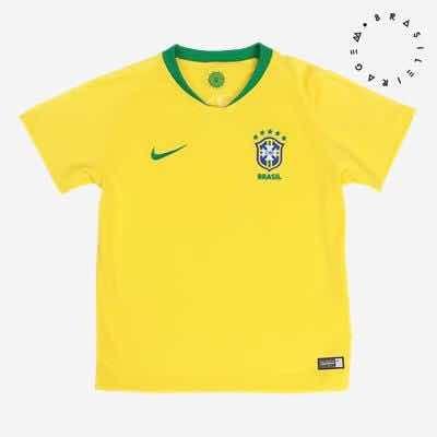 ee78436d5b Camisa Nike Brasil 2018-19 Torcedor Infantil Original Barato - R  199