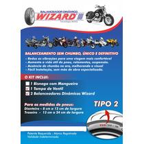 Balanceamento Sem Chumbo Motos Kit 2 Husqvarna Piaggio Honda