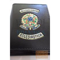 Porta Cédulas Brasão República Autoridade Eclesiástica C19p