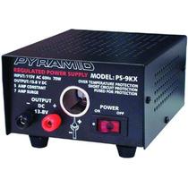 Pyramid Pyr 5 Amp Fuente De Alimentación W/plug Cigarro