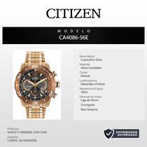 Reloj Citizen Eco Drive Ca4086-56e 60414