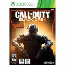 Jogo Call Of Duty Black Ops Iii Xbox 360 Mídia Física C/ Nf