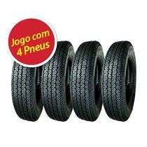 Kit 4 Pneu Pirelli 5.90-14 Tornado Alfa 4pr Fusca/brasilia
