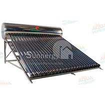 Calentador Solar 285 Litros. Acero Inoxidable. 24 Tubos