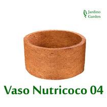 Vaso Xaxim Fibra De Coco Nutricoco 04 - Melhor Preço
