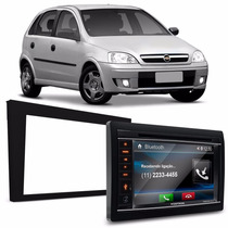 Central Multimidia Dvd Tv Usb Corsa Vectra + Moldura 2 Din