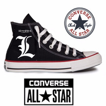 Tênis Death Note All Star Converse Personalizado