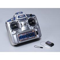 Rádio Hk 6 Canais 2.4ghz - Fhss - Com Função Mix + Bateria