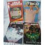 Lote C/ 4 Revistas Antigas Tricô, Crochê E Ponto Cruz - A86