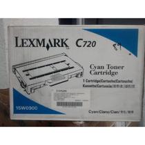 Toner Lexmark 15w0900 Para C720 Cyan Original