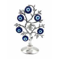 Arvore Olho Grego Decorativa Amuleto De Boa Sorte 23 Cm