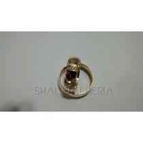 Promoção Par De Alianças Em Ouro 18k 6mm Com Diamantes