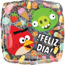 Globo Angry Birds Paq 10 Pzas Medida 9 Pulgadas Centro Mesa