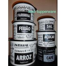 Tupperware Kit 06 Caixas P&b Tupperware - Oferta