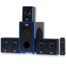 Sistema De Teatro Casero Acústico Audio Aa5102 800w 5.1