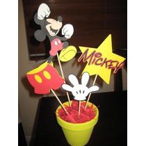 Centro De Mesa De Mikey Para Cumpleaños Infantiles