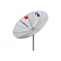 Antena Parabólica Century 1,70mt+receptor Analóg+lnbf Multip