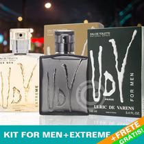 Perfume Udv Paris For Men + Udv Extreme 100ml + Frete Grátis