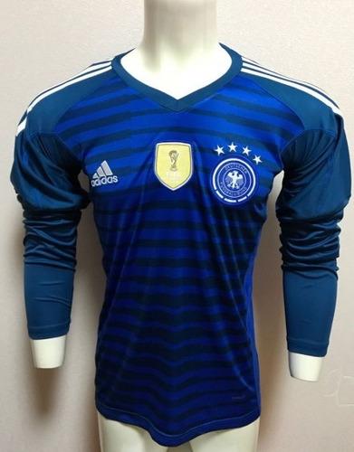 Camisa Seleção Alemanha Goleiro Manga Longa 2 adidas 2018 - R  189 ... 0e74154d893a7