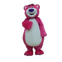 Botarga Disfraz Traje Adulto Lotso Toy Story Oso Osito Rosa