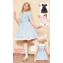 Vestido Lolita Anjo Pronta Entrega Alta Qualidade! A