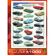 Rompecabezas Modelo Carros Americanos De Los 50s 1000 Piezas
