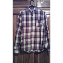 Camisa Manga Larga Pull And Bear Talla M Original Y Nueva
