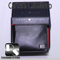 Cartera Billetera Caballero Tommy Hilfiger 100 % Original...