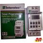 Timer Digital Din Reloj Con Reserva Interlelecelectro Medina