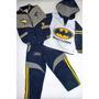 Sudadera Batman Niño 3 Piezas Buso + Chaleco + Pantalon